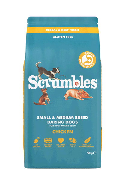 Scrumbles Adult Daring Dogs Chicken