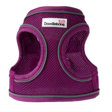 Doodlebone Airmesh Snappy Dog Harness (Purple)