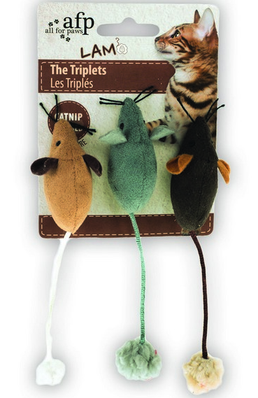 AFP The Triplets Cat Toy